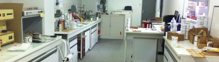 La compañía - Briançon production -  Laboratorio de investigación