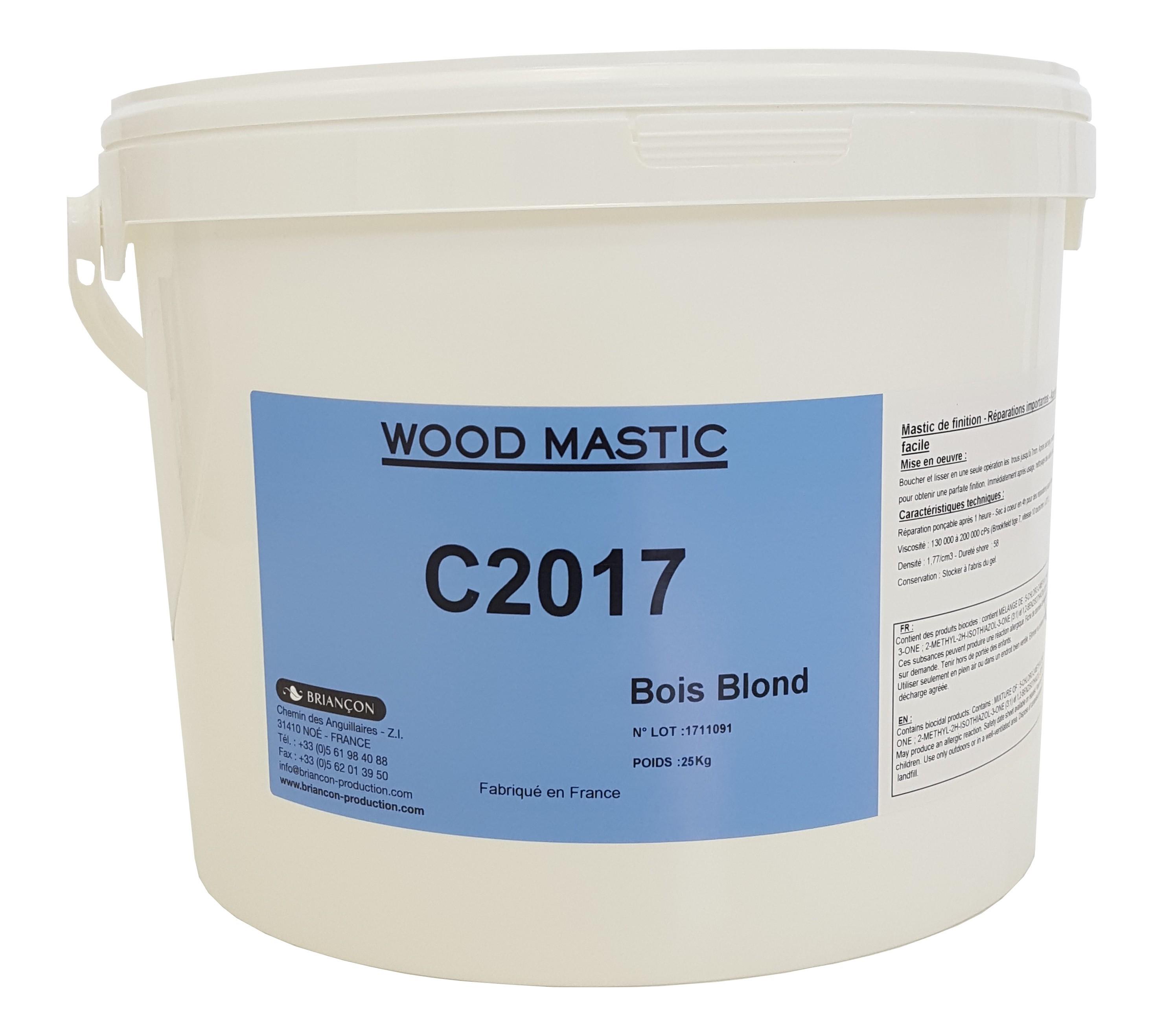 Wood Mastic C2017 - Mastic prêt à l'emploi - Briançon production