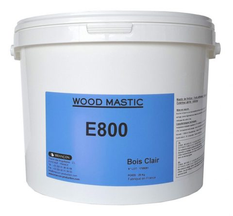 Wood Mastic E800 - Mastic prêt à l'emploi