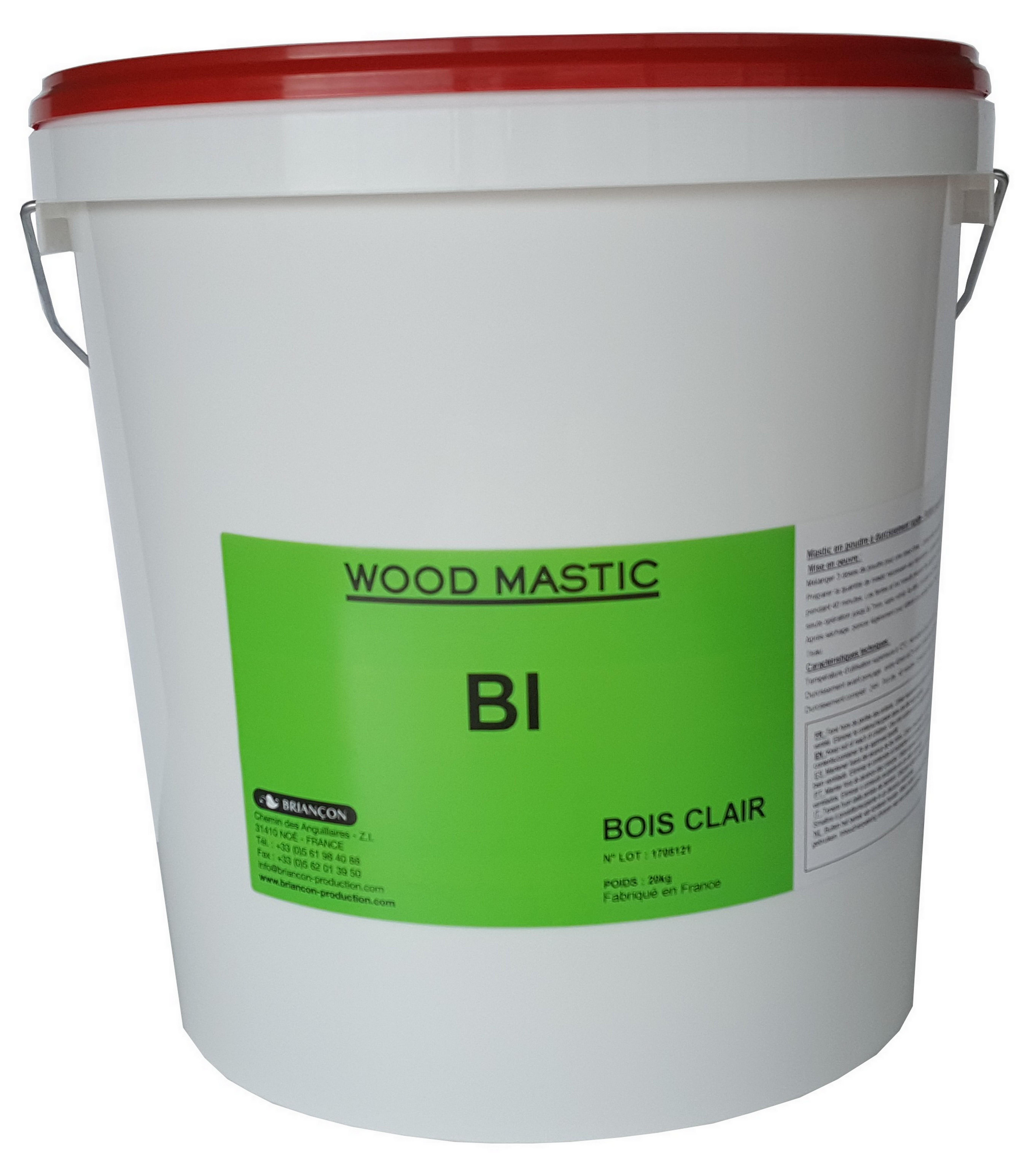 Wood Mastic Bi - Mastic Bi-Composant