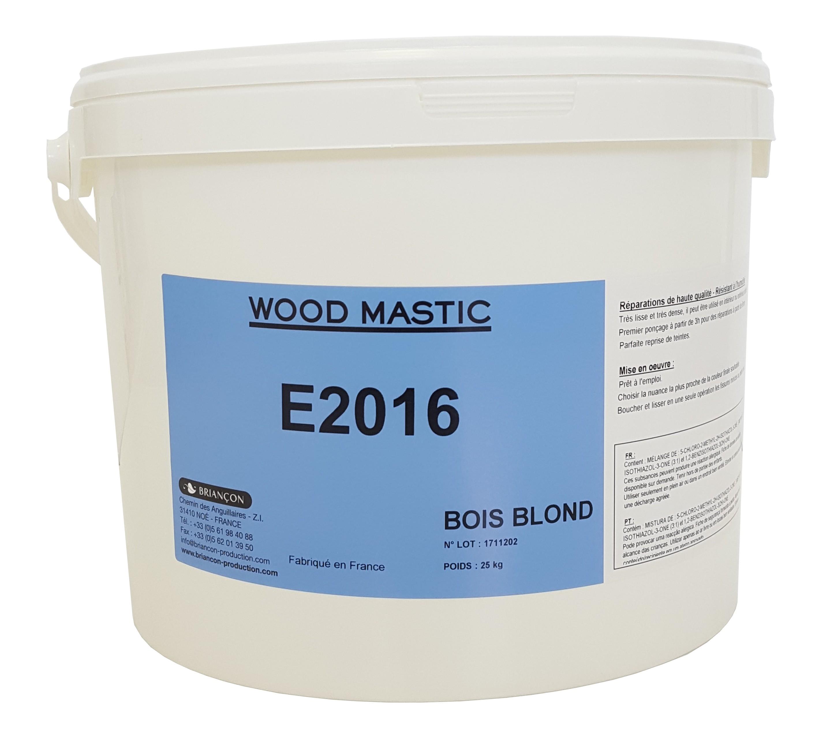 Wood Mastic E2016 - Mastic prêt à l'emploi
