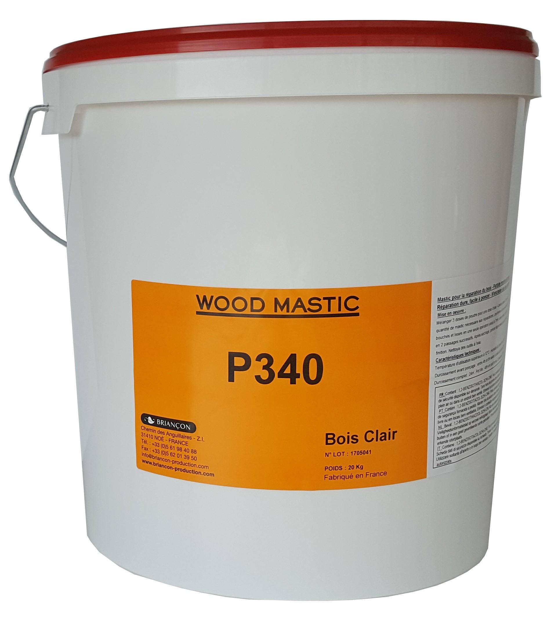 Wood Mastic P340 - Mastic Bi-Composant