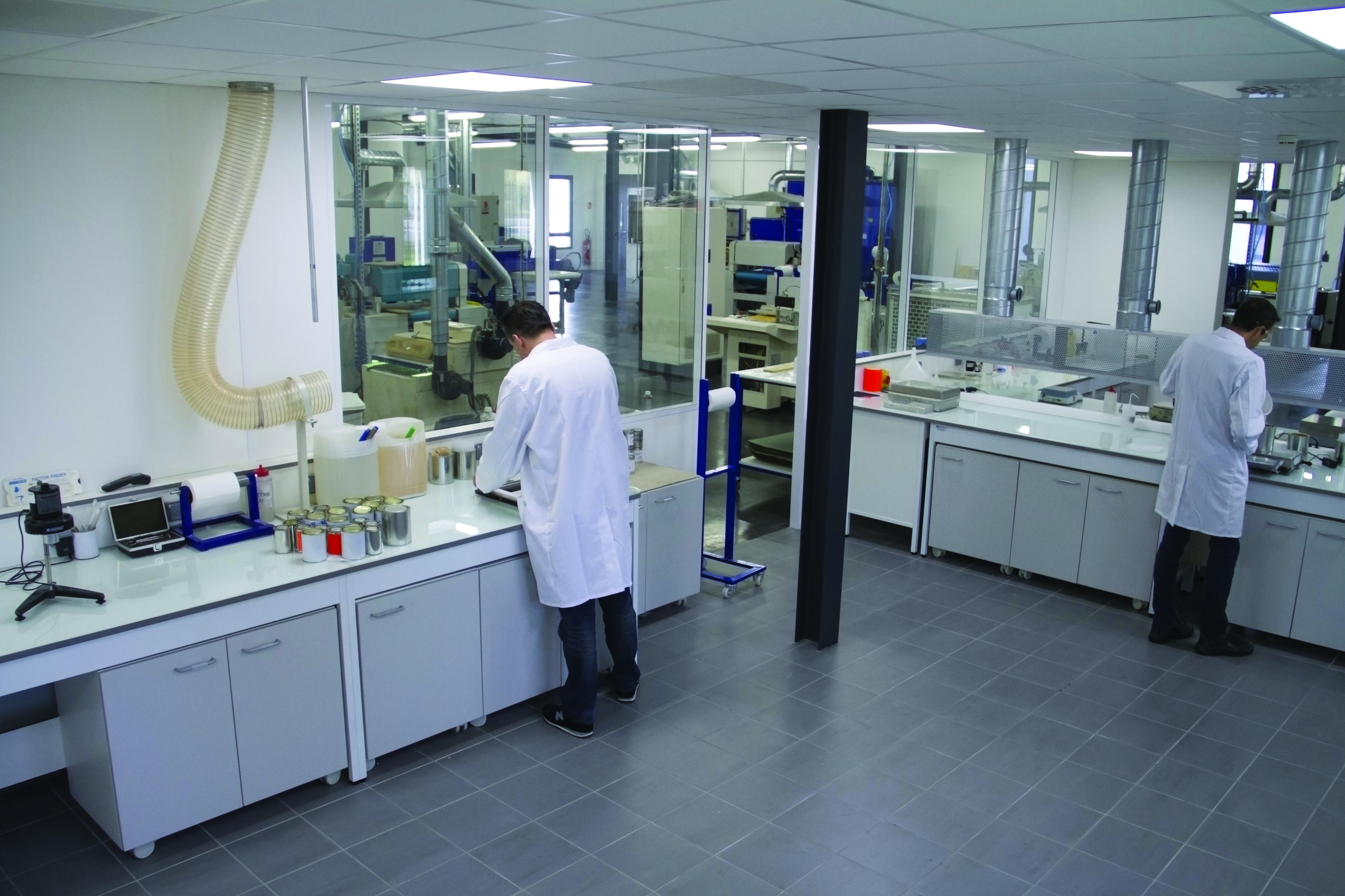 The company - Briançon production - Laboratoire de recherche